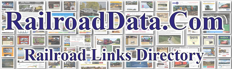 RailroadData.com - Railroad Links Directory and Search Engine